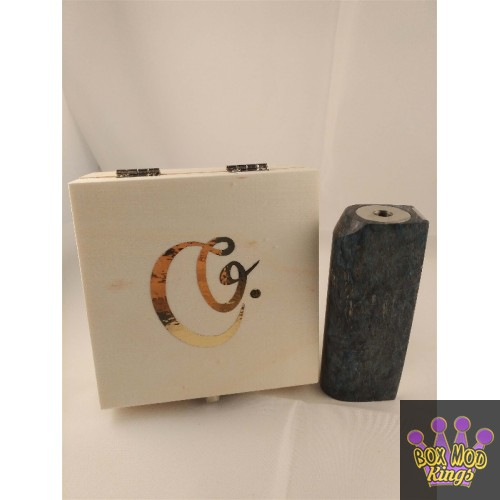 Ganties 50w 18650 Stab wood Box Blue by Creavap