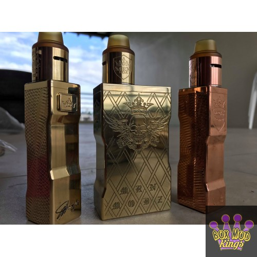 Revolution V3 MINI COPPER OR BRASS Box by MRN 18650 AND 20700