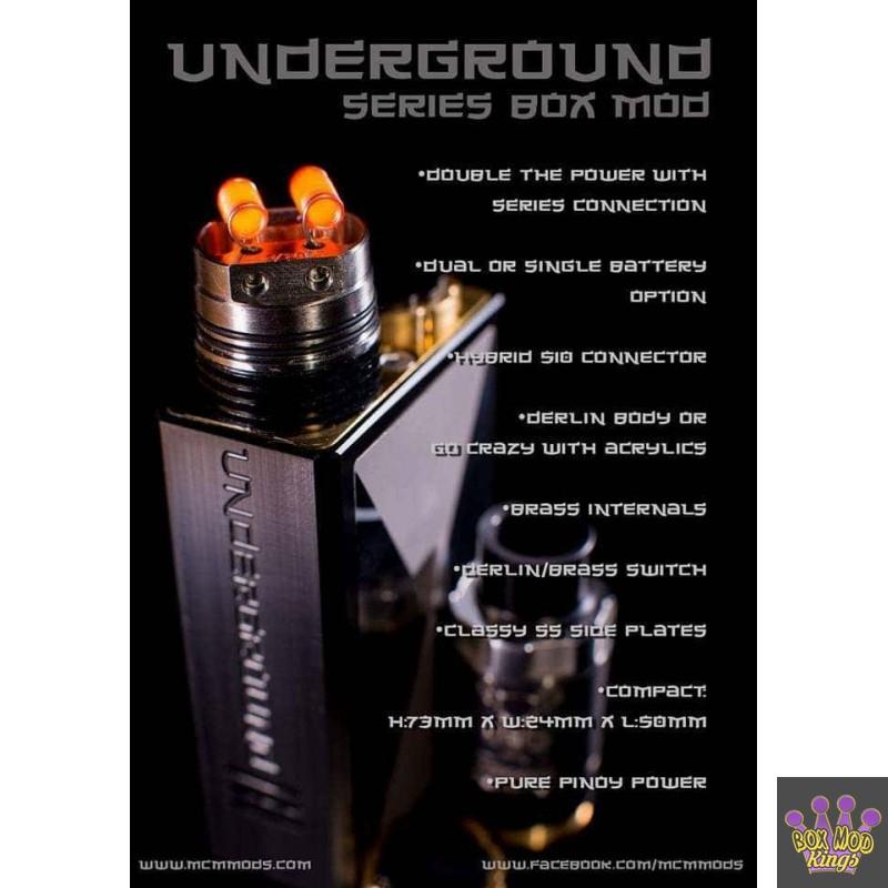 MCM Underground Series box mod