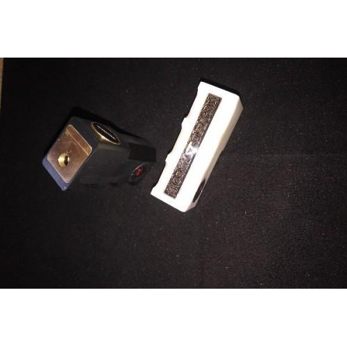 Stark Single 18650 Delrin Box Mod by Lunar Aggelos